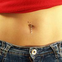 Bauchnabel Ringe während der Schwangerschaft