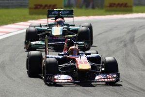 F1 Racing ist ein Motor-Regeln