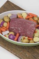 Wie im Alter von Rindfleisch im Kühlschrank trocken