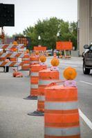 Highway Arbeit Zone Sicherheits-Tipps