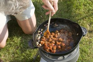 Backcountry Camping Lebensmittelfolien