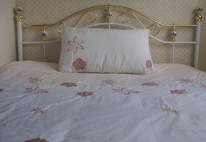 Fasern für Kissen & Bettdecken verwendet