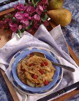 Wie man eine einfache und schnelle Apfel-Zimt knusper Dessert-Rezept