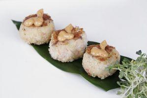 Mahlzeiten mit Crab Cakes
