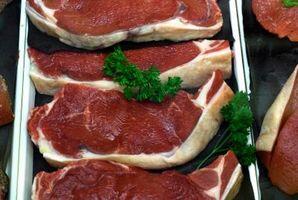 Wie man Fleisch vor dem Kochen Ergebnis