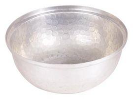 Pflegeanleitung für Aluminium Schalen serviert