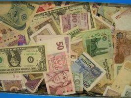 Wie man Geld in eine andere Währung zu tauschen