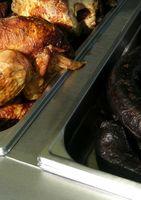 Wie zu kochen Huhn auf eine Rotisserie in Konvektionsöfen