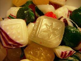 Wie man harte Süßigkeit aus Zucker