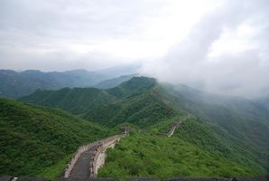 Bekannten Features von der chinesischen Mauer