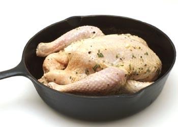 Wie backen Chicken
