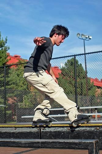 Aggressive Inline-Skate-Tricks lernen