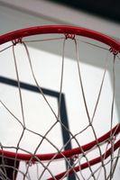 Basketball-Regeln für die Shot Clock & schlagen die Rückwand-Felge