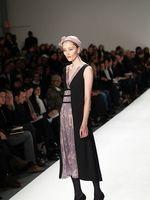 Wie an den Modeschauen in Mailand