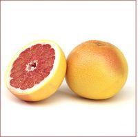 Wie schneidet eine Grapefruit zum Essen
