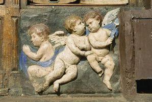 Wie ein Engel-förmigen Kuchen machen