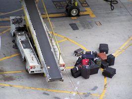 Flughafen-Gepäck-Regeln am Flughafen Gatwick