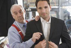 Wie bestimmen Sie die Größe von einem Herren Anzug Mantel