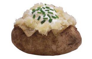 Wie zarte Kartoffeln Backen