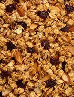 Wie Sie knackig, fruchtig-Granola