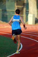 Ziel-Einstellung zum laufen