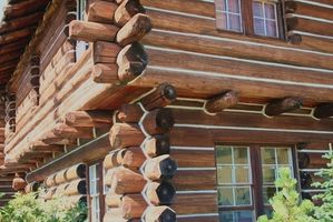 Hütten im DuPont-Forest, North Carolina