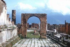 Theater & Amphitheater in Pompeji