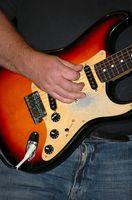 Wie kann man eine kleine Delle in einem Gitarrenhals reparieren