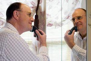 Wie Sie trockene Gesichts-Rasur für Männer