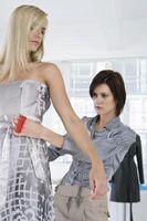 Wie man eine Frau, die Größe von Maßband Messen