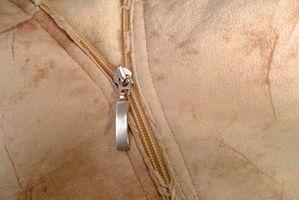 Anweisungen, um eine Lederjacke reparieren