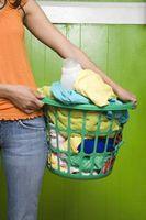 Gewusst wie: verhindern, dass Farben Blutungen & verblassen in der Wäsche