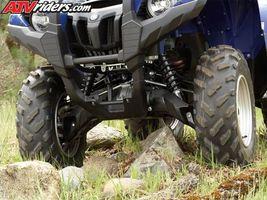 Die Front-End-Ausrichtung des ein ATV zu reparieren