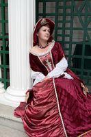 Wie Sie ein spanischer Saya-Kleid