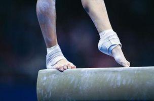 Gymnastikball Strecken & Übungen für die Heels
