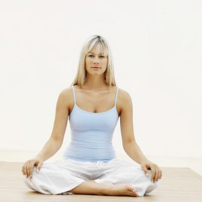 Anleitung für Yoga-Posen