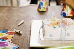 Wie man einen rechteckigen geformten Kuchen abdecken