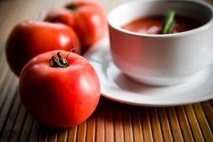 Verkürzte Tomaten Suppe Zutaten