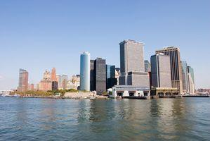 Fünf-Sterne-Hotels auf dem Wasser in New York