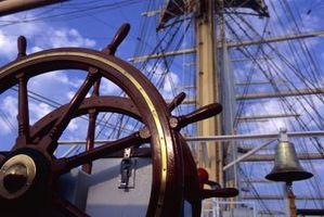 Die Geschichte von den zwei Mast Segelboot