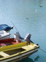 Wie man ein Boot für Trolling Motor Draht