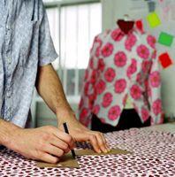 Wie man einfache Muster von alten Kleidern