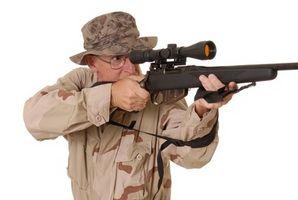 Bereitstellen ein Bereichs auf einem CVA-Frontier-Gewehr