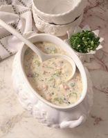 Was ist der Unterschied zwischen Chowder & Rahmspinat Suppe?