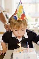 Wie eine Geburtstagstorte mit Foto ergänzt