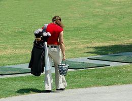 Gewusst wie: Zeichnen Schuß im Golf zu spielen