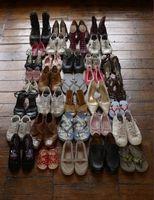 Wie man einen Schuh für ein Schulprojekt