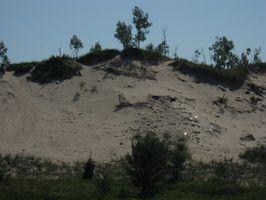 Die Auswirkungen der Erosion auf Sanddünen in Michigan