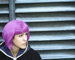 Wie zu lila Haare färben halten Sie seine Farbe länger