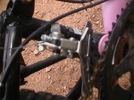 Wie ein Fahrrad Kettenschaltung einstellen